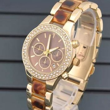 Good Price Stylish Great Deal Gift Designer's Awesome New Arrival Trendy Diamonds Hot Sale Watch [373445001245]
