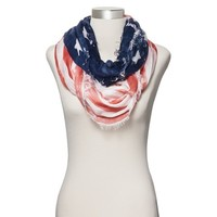 American Flag Infinity Scarf - Blue/Red