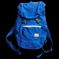 Nylon Packable Backpack, Blue