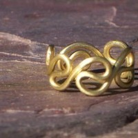 Grecian Toe Ring by 88Links on Etsy