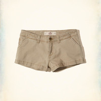 Girls Low-Rise Chino Shorts | Girls Bottoms | HollisterCo.com