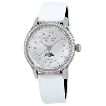 Maurice Lacroix Les Classiques Mother of Pearl Dial Ladies Watch
