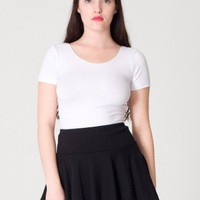 American Apparel - Thick-Knit Jersey Skirt