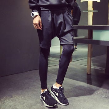 Men Casual Pants Leggings [6541433027]
