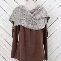 Altar'd State Scarf Included Sweater | Altar'd State