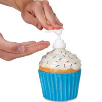 Cupcake Soap Dispenser