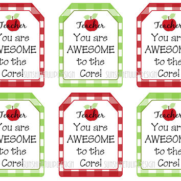 You are Awesome Printable Teacher Tags