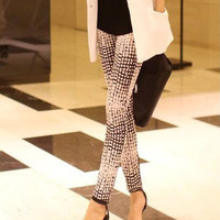 Gradient Snake Print Leggings