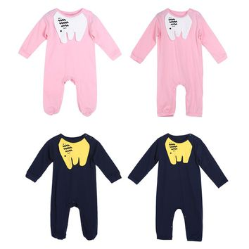 Baby Rompers Newborn Baby Clothes Long Sleeve Elephant Animal Cute Boy Clothing Set Cotton Baby Girl Clothes Bebe Jumpsuit