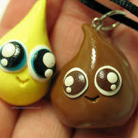 Poo N Pee BFF NECKLACE SET