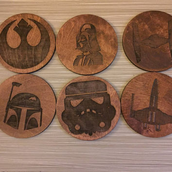 Man Cave Coasters: Star Wars