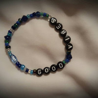 Good Vibes Beaded Stretch Bracelet
