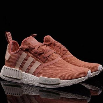 ADIDAS NMD Fashion Trending Women Men Running Sport Casual Shoes Sneakers Pink G