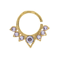 Fancy Lavender Jewel Aurora Ring