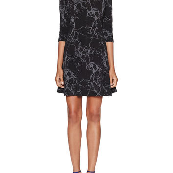 Rory Fit & Flared Printed Dress