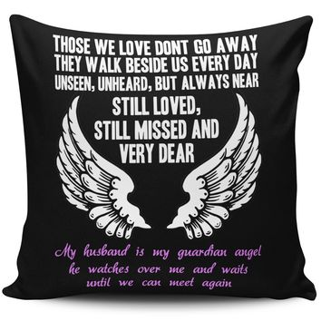 Guardian Angel Husband Pillow Cover