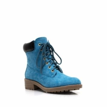 Take A Hike Lace-Up Boots - GoJane.com