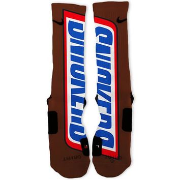 Snickers Custom Nike Elite Socks