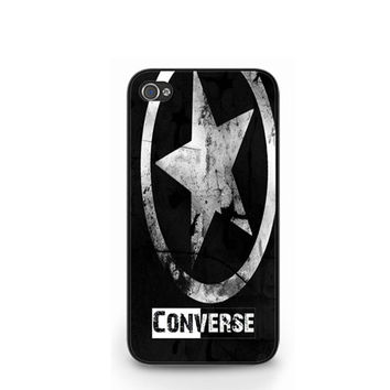 New Converse All Star Black iPhone 4 4S / iPhone 5 Hard Case Cover