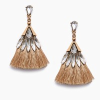 Penelope Earrings - Brown
