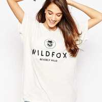Wildfox | Wildfox Beverly Hills Boyfriend T-Shirt at ASOS
