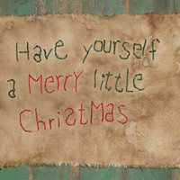 Extreme Primitive Sampler - Christmas Sampler - Early Look Sampler - Have Yourself a Merry Little Christmas