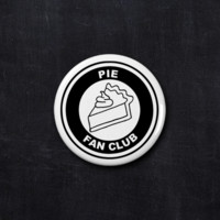 Pie fan club button