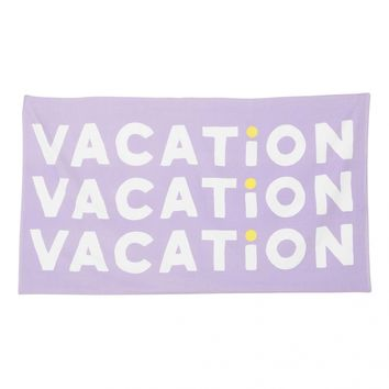 Vacation Big Beach Towel
