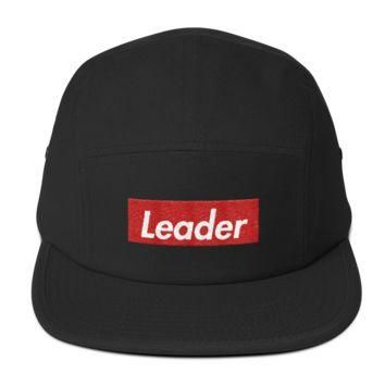 Supremely Supreme Leader 5 Panel Camper Hat