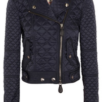 Burberry Brit - Quilted shell biker jacket