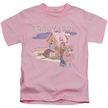 Candy Land Boys T-Shirt Cotton Candy Land Pink Tee