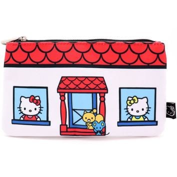 Hello Kitty House Pencil Case by Loungefly