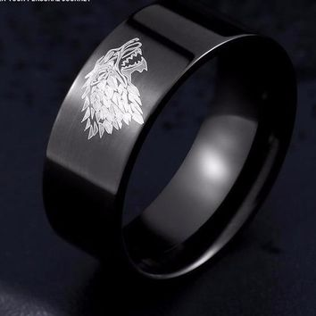 Game of Thrones Stainless Steel Ring