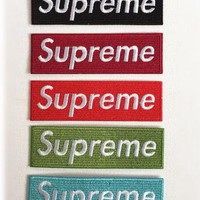 Supreme patch Logo patches badge patch Embroidered patch sew on patch Iron on patch Ap