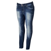 Wallflower Curvy Skinny Jeans - Juniors' Plus, Size: