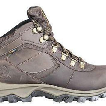 Timberland Mens Boots MT Maddsen Brown waterproof Leather 2730R