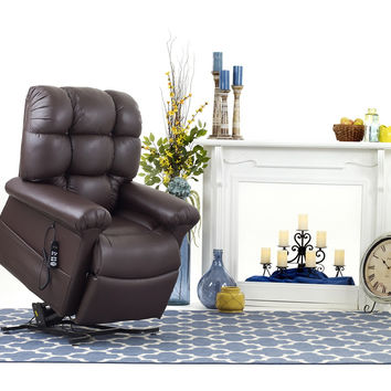 Ultracomfort Power Lift Chair Full Lay Out Cozy Comfort UC-556 Med/Large
