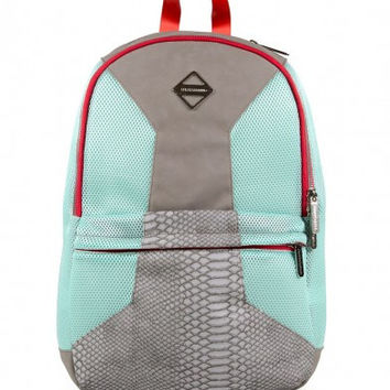 SPRAYGROUND - GREY RETRO FUTURE CUT & SEW BACKPACK (YEEZY)