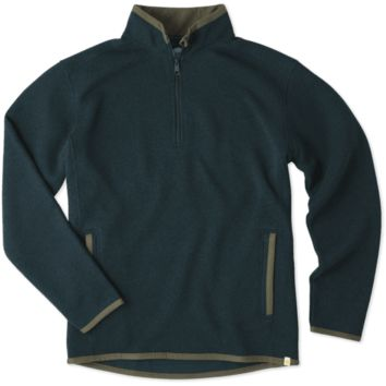 Men's Balsam Green 1/4 Zip Pullover