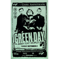 Green Day - Concert Promo Poster