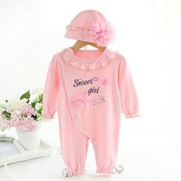 Sweet Princess Baby Romper