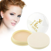 2016 Hot Sale New Fashion Natural Color Pressed Smooth Dry Concealer Oil Control Loose Face Powder Makeup Tool For Women