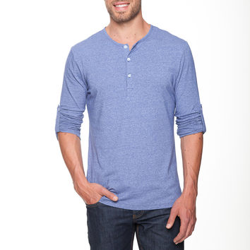 The Henley Shirt in Apache Navy by Mizzen+Main
