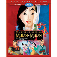 Disney Mulan 15th Annniversary Blu-ray and DVD Combo Pack | Disney Store