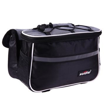 4 in 1 Cycling Pouch Bags Mountain Bike Bicycle Frame Tube Bag Front Head Top Waterproof Bike Bag Cycling Panniers Container Bag
