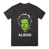 Giorgio Tsoukalos From Ancient Aliens- Black T-Shirt 2XL