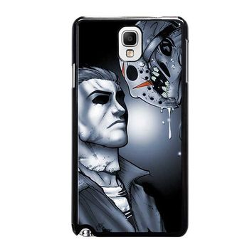 MICHAEL MYERS VS JASON Samsung Galaxy Note 3 Case Cover