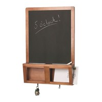 "LUNS Writing/magnetic board, antique stain - 19x28 "" - IKEA"