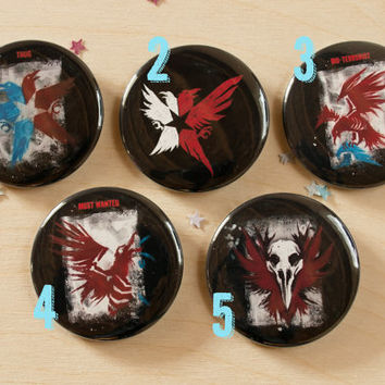 Evil Karma // inFAMOUS: Second Son Pinback Buttons