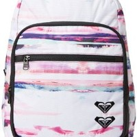 Roxy Juniors Grand Thoughts Backpack, Scenic Stripe Angel Blue, One Size:Amazon:Clothing